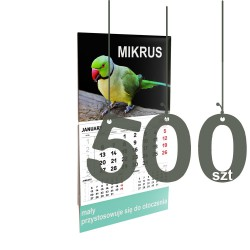 Kalendarze Mikrus 500szt