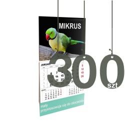 Kalendarze Mikrus 300szt