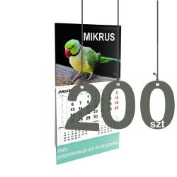 Kalendarze Mikrus 200szt