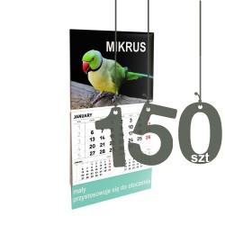 Kalendarze Mikrus 150szt
