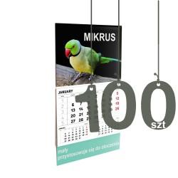 Kalendarze Mikrus 100szt