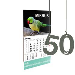 Kalendarze Mikrus 50szt