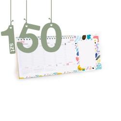 Terminarze z notesem 150szt