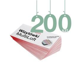 Wizytówki MultiLoft 200szt