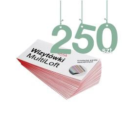Wizytówki MultiLoft 250szt