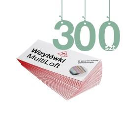 Wizytówki MultiLoft 300szt