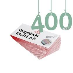 Wizytówki MultiLoft 400szt