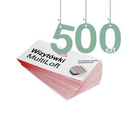 Wizytówki MultiLoft 500szt
