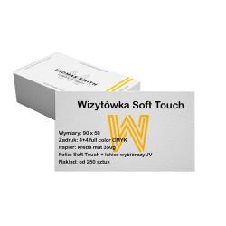 Wizytówki Soft Touch