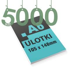 Ulotki reklamowe A6 5000szt