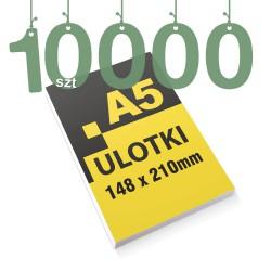 Ulotki reklamowe A5 10000szt