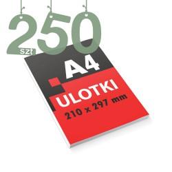 Ulotki reklamowe A4 250szt