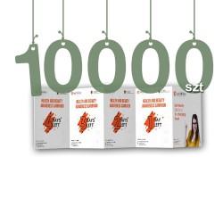 Ulotki składane typu harmonijka 10000szt