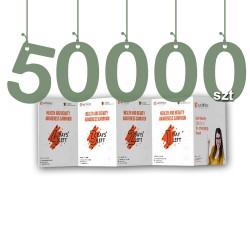 Ulotki składane typu harmonijka 50000szt