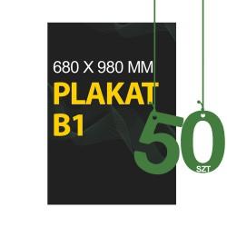 Plakaty B1 50szt