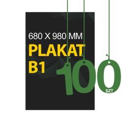 Plakaty B1 100szt