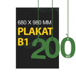 Plakaty B1 200szt