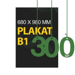 Plakaty B1 300szt