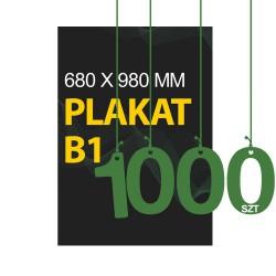 Plakaty B1 1000szt