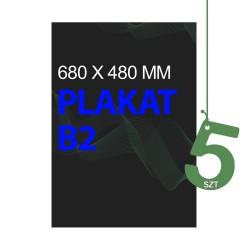 Plakaty B2 5szt