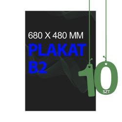Plakaty B2 10szt