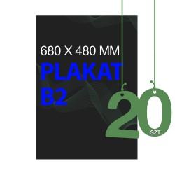 Plakaty B2 20szt