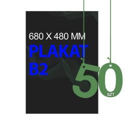 Plakaty B2 50szt