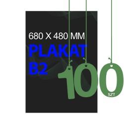 Plakaty B2 100szt