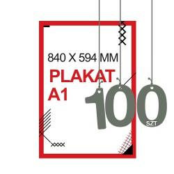 Plakaty A1 100szt