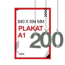 Plakaty A1 200szt