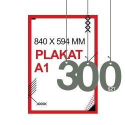 Plakaty A1 300szt