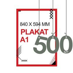 Plakaty A1 500szt