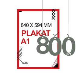 Plakaty A1 800szt