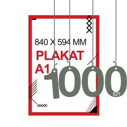 Plakaty A1 1000szt