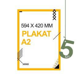 Plakaty A2 5szt