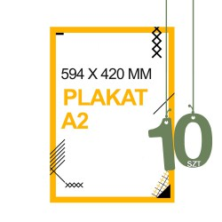 Plakaty A2 10szt