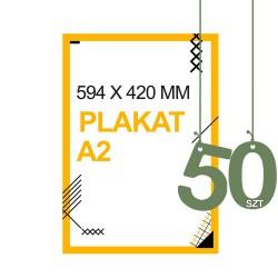Plakaty A2 50szt