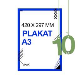 Plakaty A3 10zt