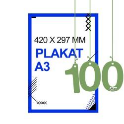 Plakaty A3 100zt