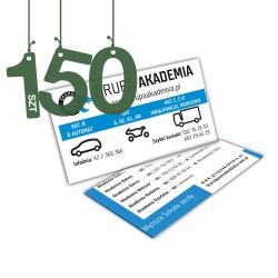Wizytówki standardowe 150szt