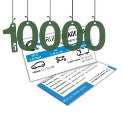 Wizytówki standardowe 10000szt